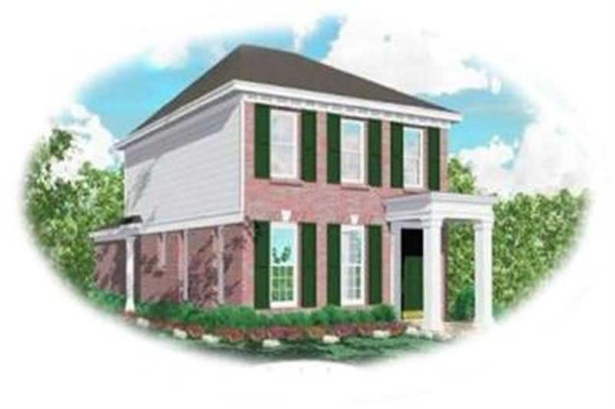 Main image for house plan # 8279