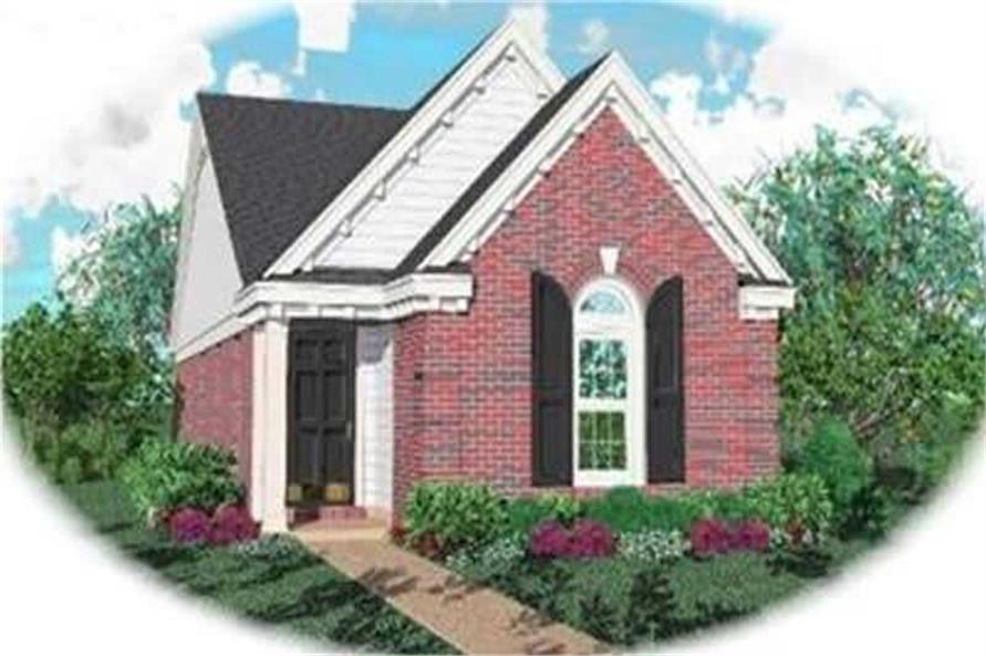Main image for house plan # 8271
