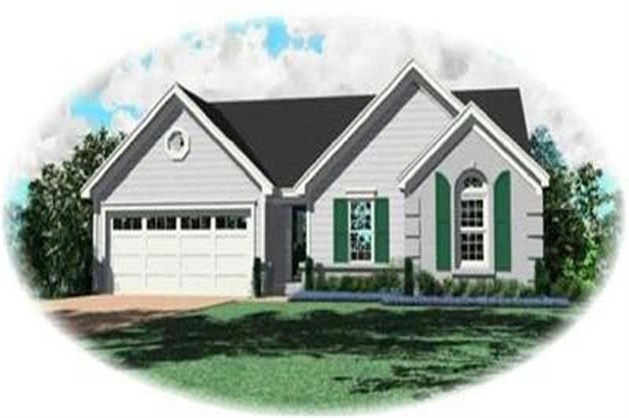 Main image for house plan # 8273