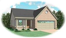 Main image for house plan # 8275