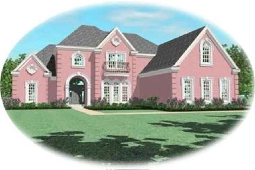 Main image for house plan # 8383
