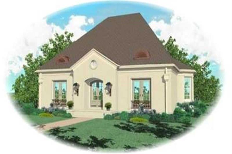 Main image for house plan # 8397