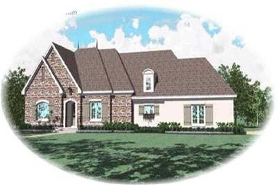 4-Bedroom, 3506 Sq Ft Contemporary Home Plan - 170-3260 - Main Exterior