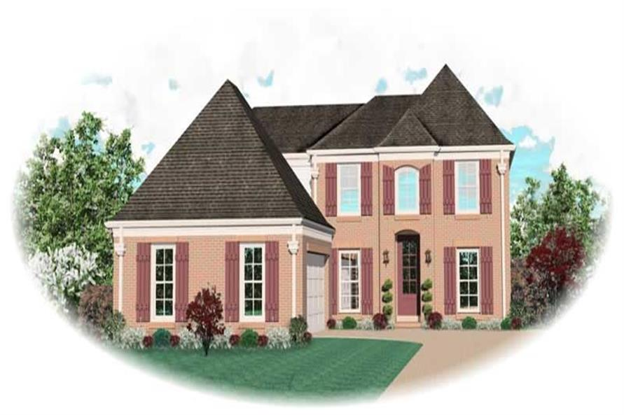 Main image for house plan # 10690