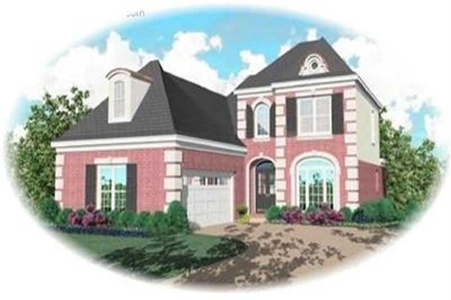 Main image for house plan # 8402