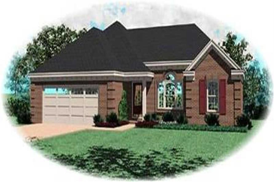 Main image for house plan # 8281