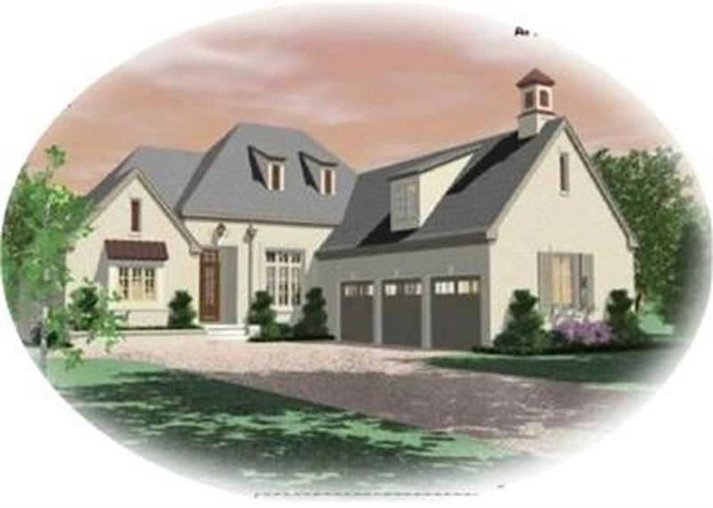 Main image for house plan # 8411
