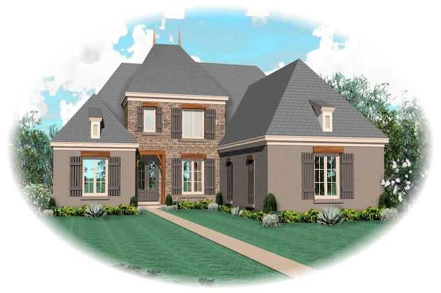 Main image for house plan # 10657