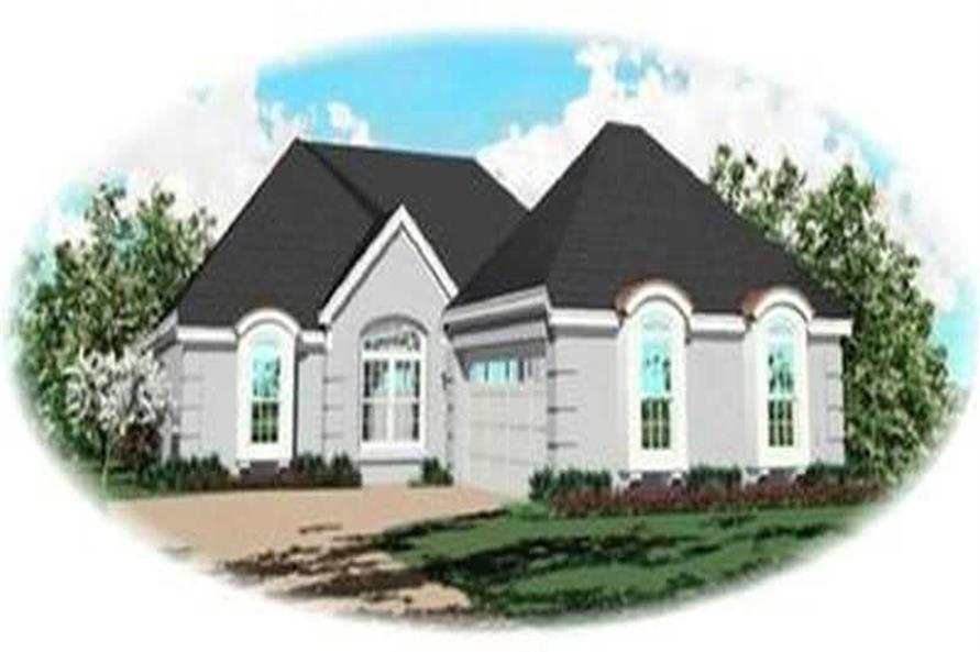 3-Bedroom, 1791 Sq Ft Contemporary House Plan - 170-3292 - Front Exterior