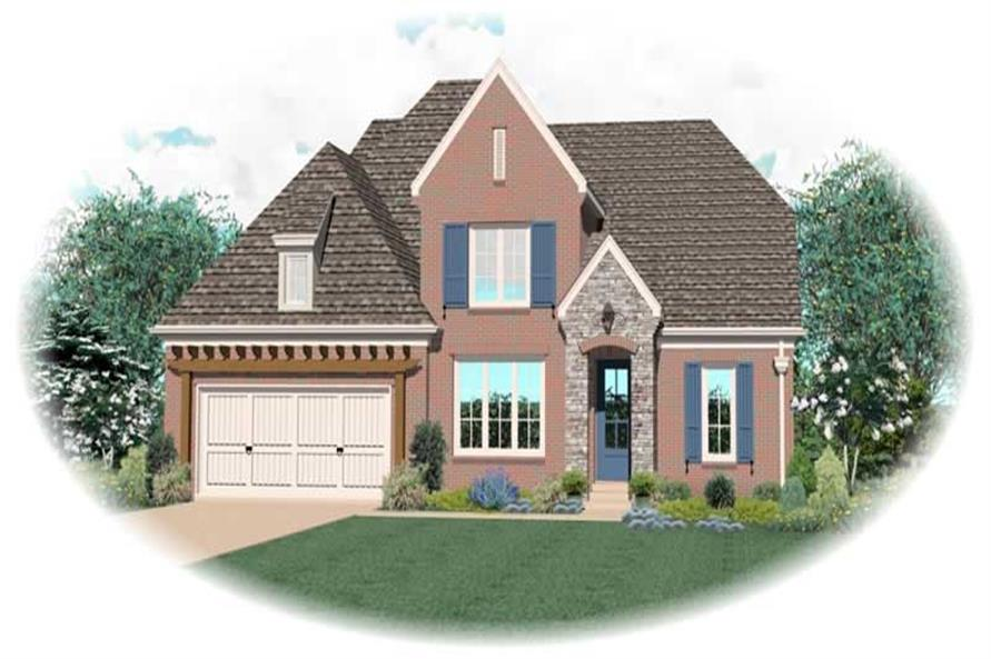 Main image for house plan # 10481