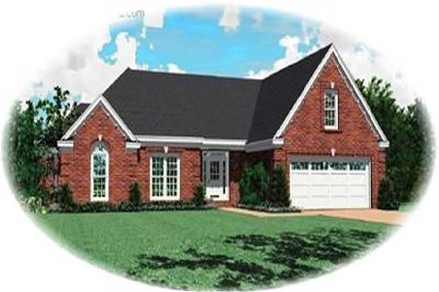 Main image for house plan # 8306