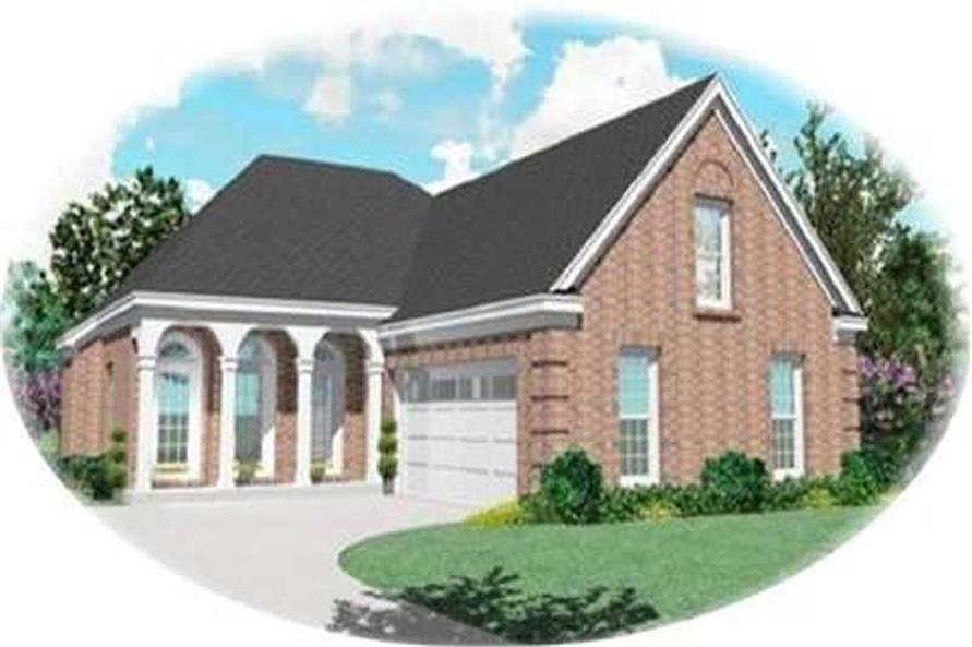 Main image for house plan # 8315