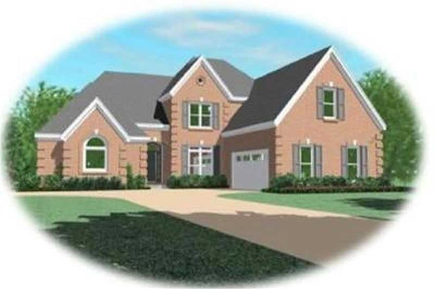 Main image for house plan # 8401