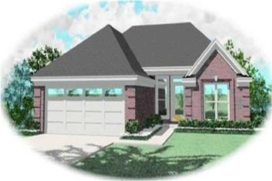 Main image for house plan # 8252