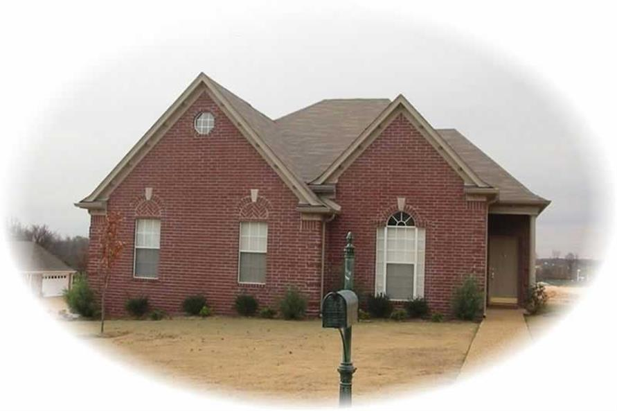 3-Bedroom, 1474 Sq Ft Country Home Plan - 170-3301 - Main Exterior