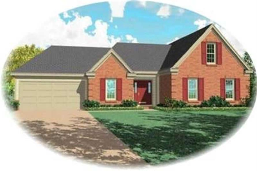 Main image for house plan # 8420