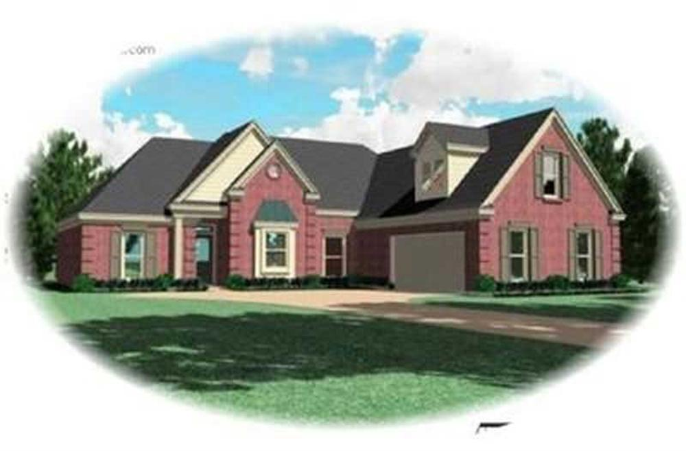 Main image for house plan # 8419