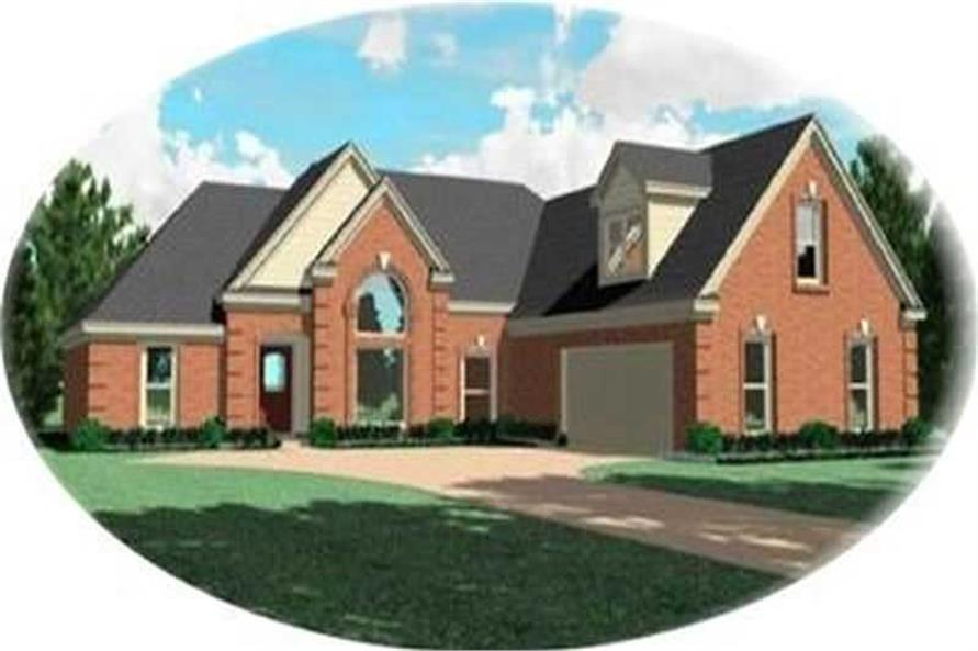 Main image for house plan # 8418