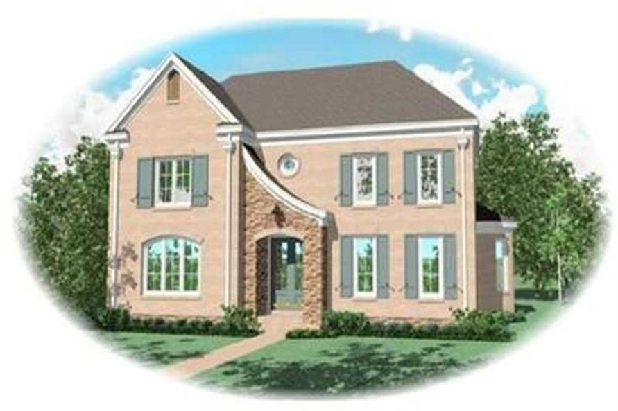 Main image for house plan # 8412