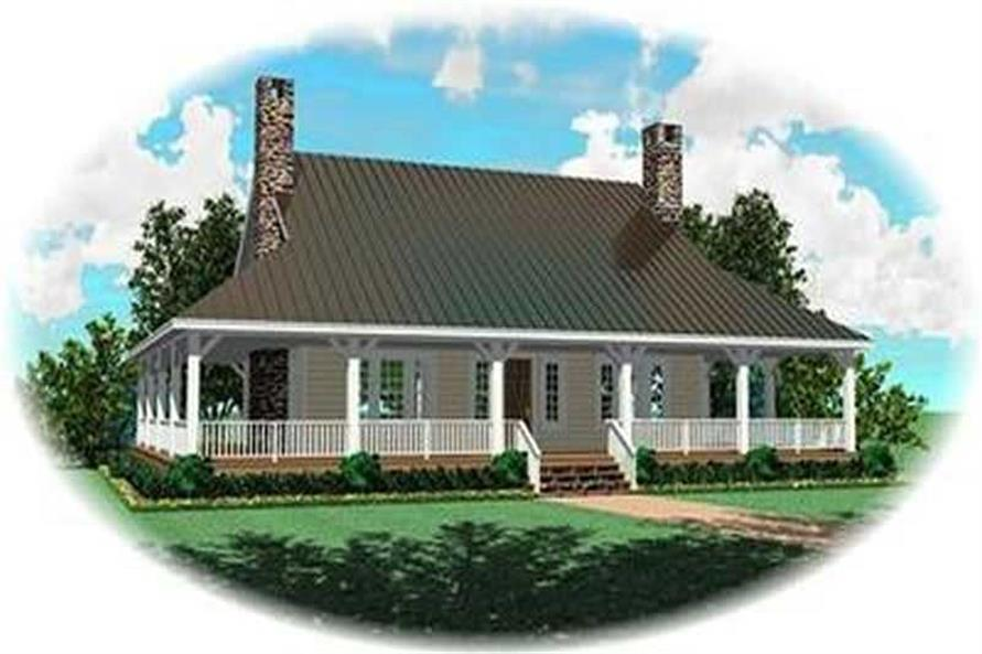 Main image for house plan # 8356