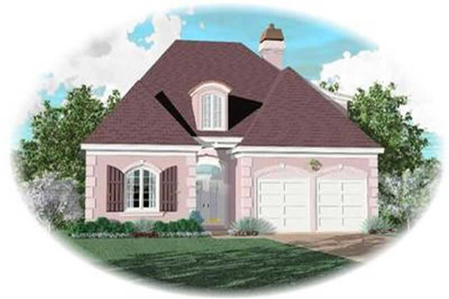 Main image for house plan # 8361