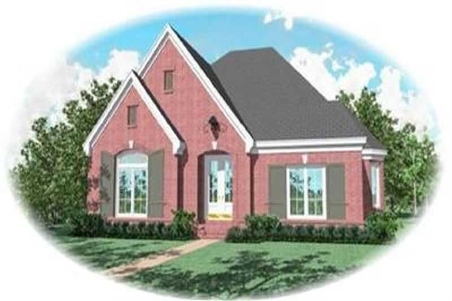 3-Bedroom, 3047 Sq Ft Ranch Home Plan - 170-3326 - Main Exterior