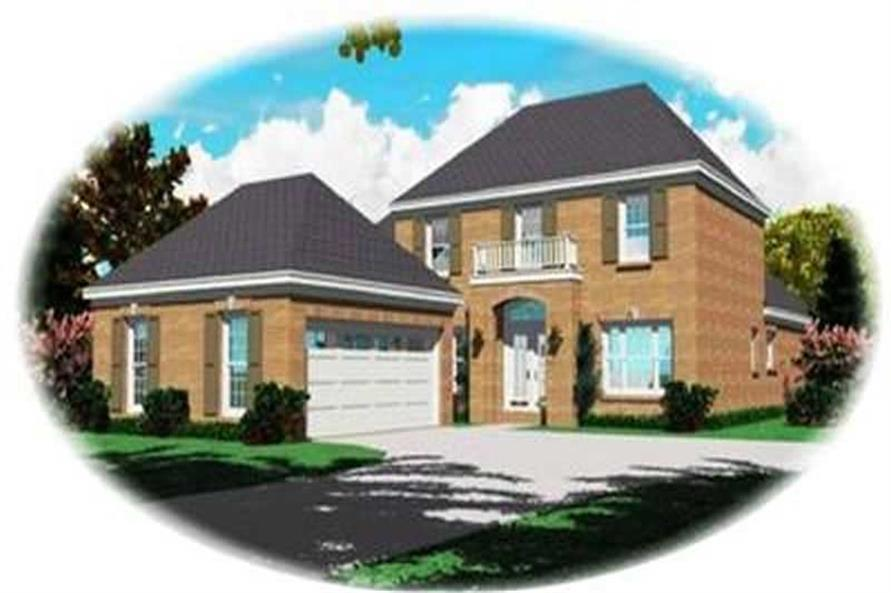Main image for house plan # 8358