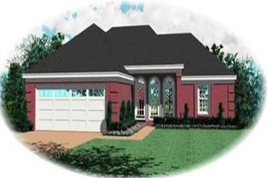 Main image for house plan # 8296