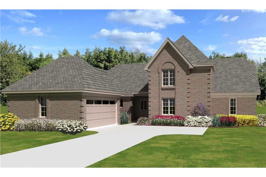 170-3338: Home Plan Rendering