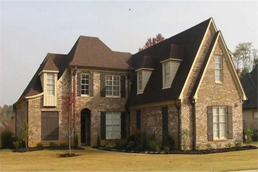 3-Bedroom, 2995 Sq Ft Country Home Plan - 170-3346 - Main Exterior