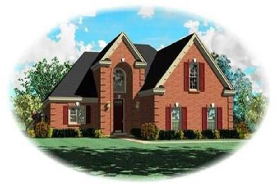 Main image for house plan # 8362