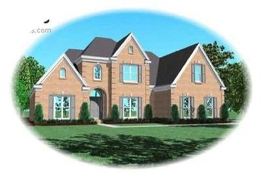 4-Bedroom, 2978 Sq Ft Contemporary Home Plan - 170-3352 - Main Exterior
