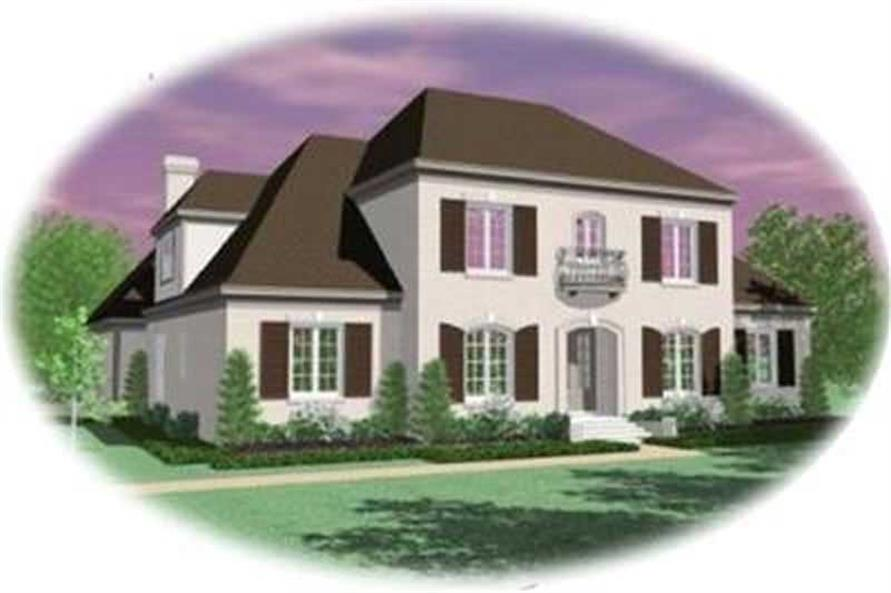Main image for house plan # 8380