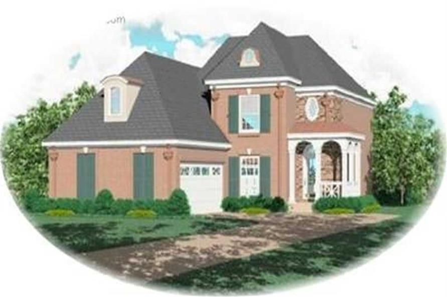 Main image for house plan # 8374