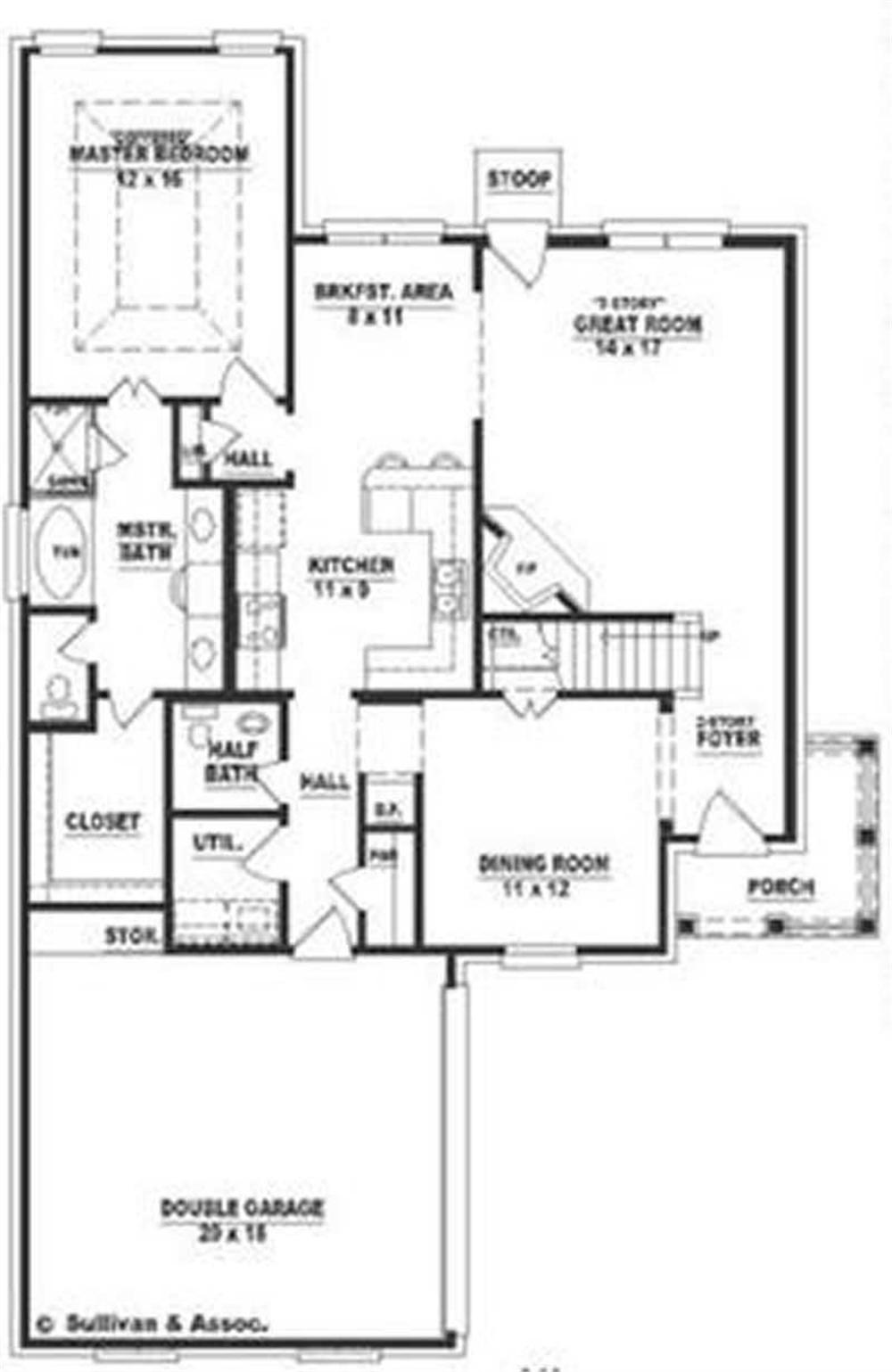 Large images for house plan 170 3357 for Home plan collection