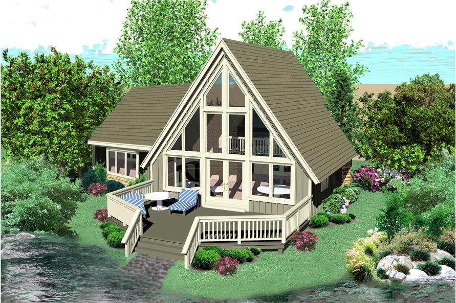 170-3361: Home Plan Rendering