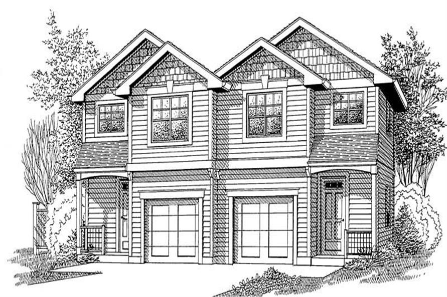 Main image for house plan # 11998