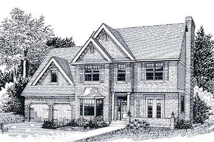 Main image for house plan # 11993