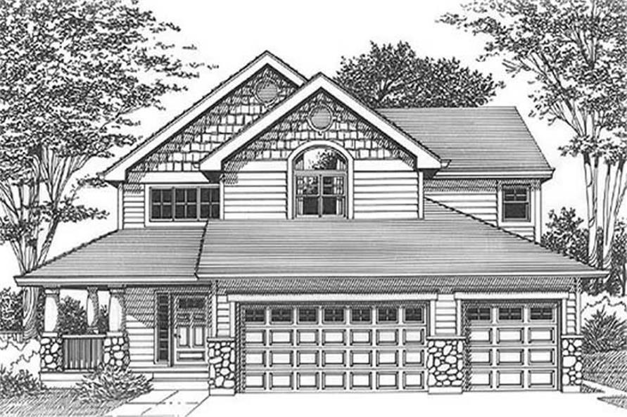Main image for house plan # 11979