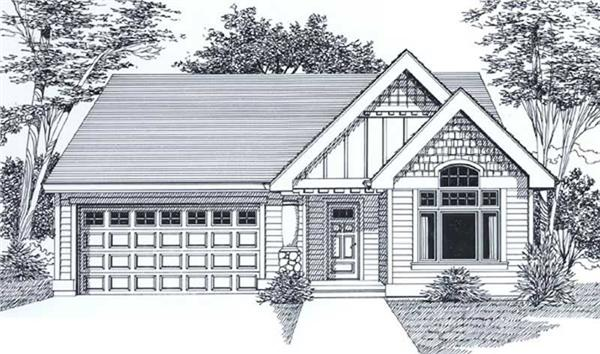 Main image for house plan # 12030