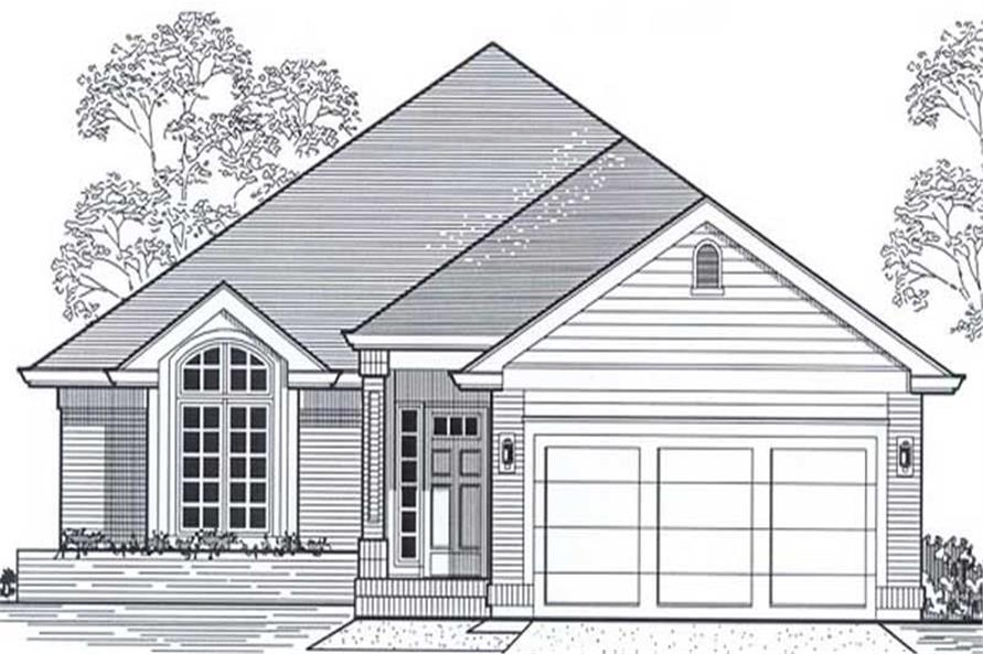 Main image for house plan # 12053