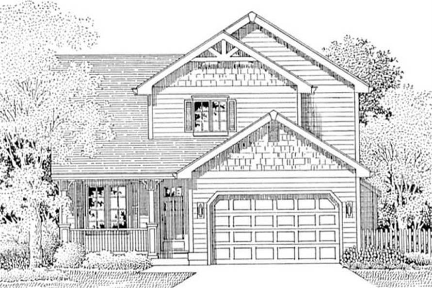 Main image for house plan # 12036