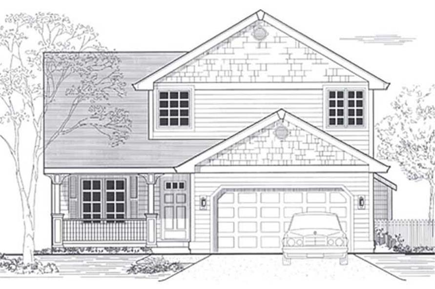 Main image for house plan # 12041