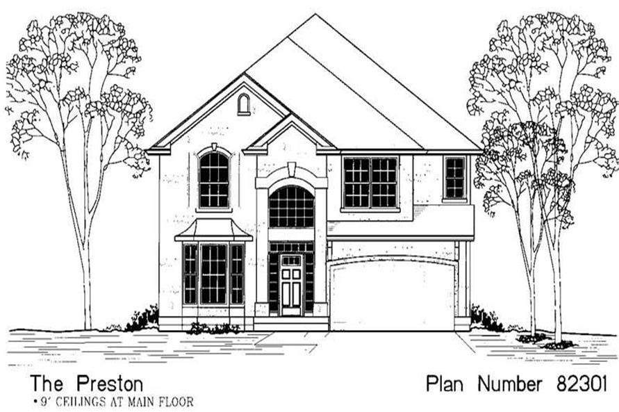 Main image for house plan # 12052