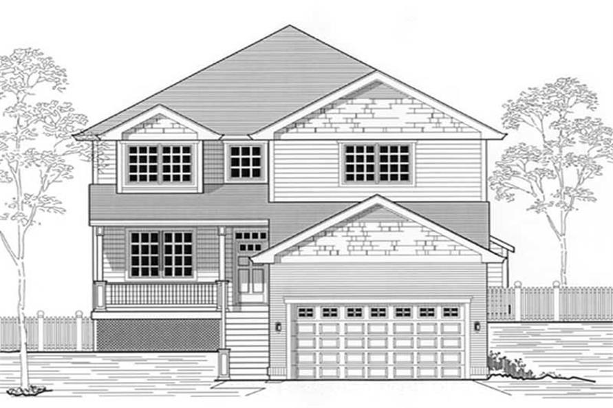 Main image for house plan # 12042