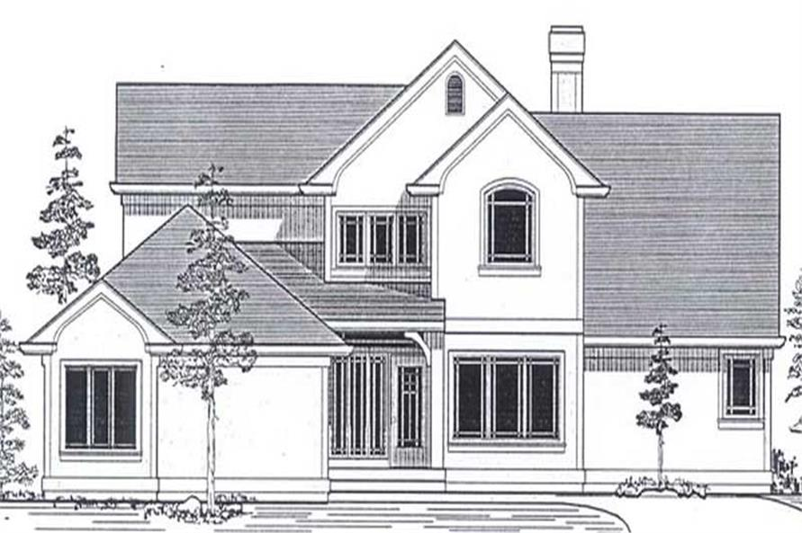 Main image for house plan # 12125
