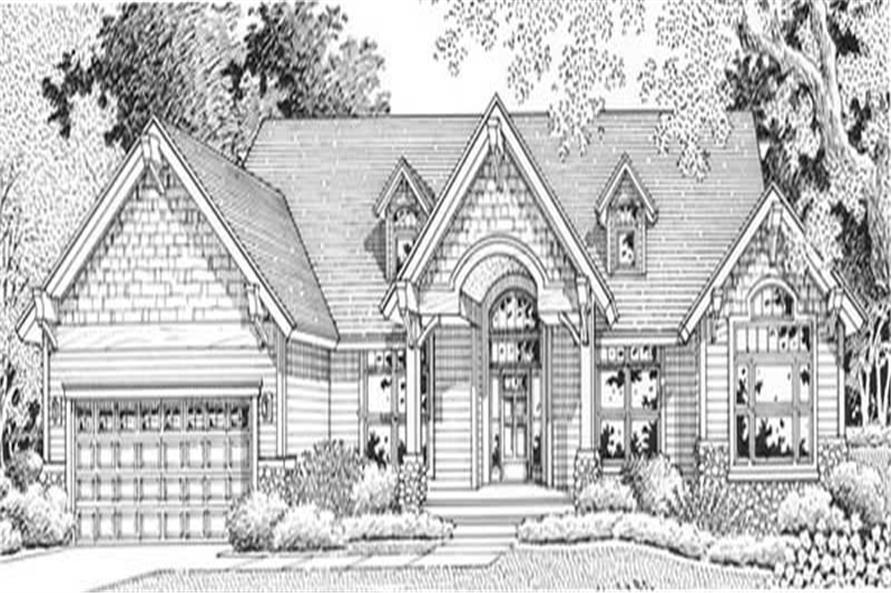 Main image for house plan # 11885
