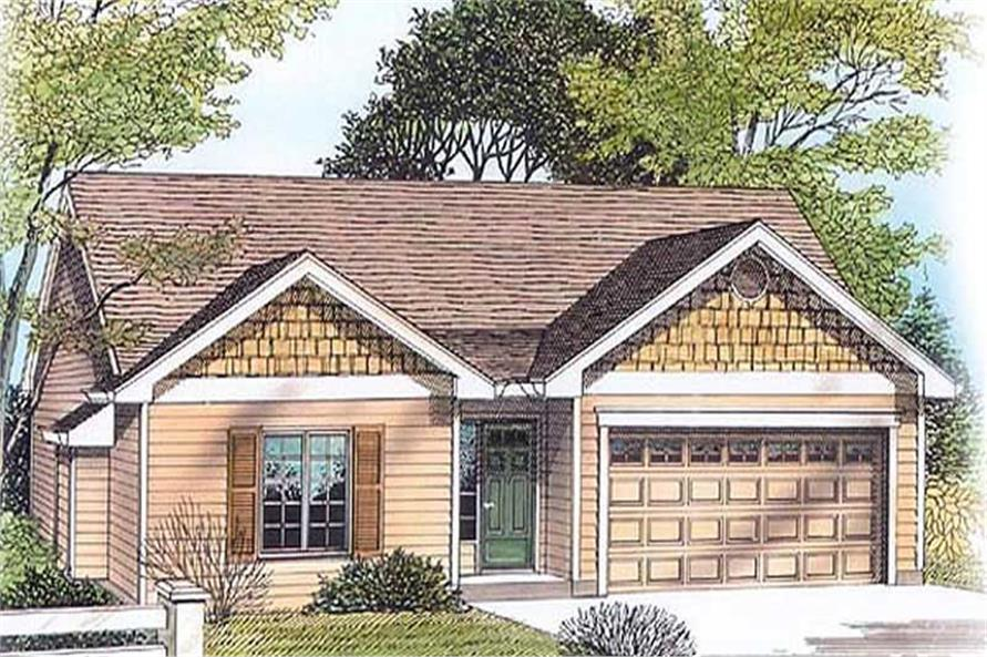 Main image for house plan # 11974