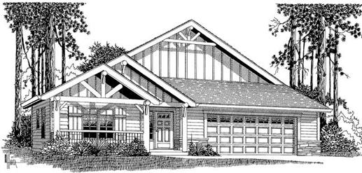 Main image for house plan # 11973