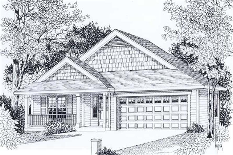 Main image for house plan # 11970